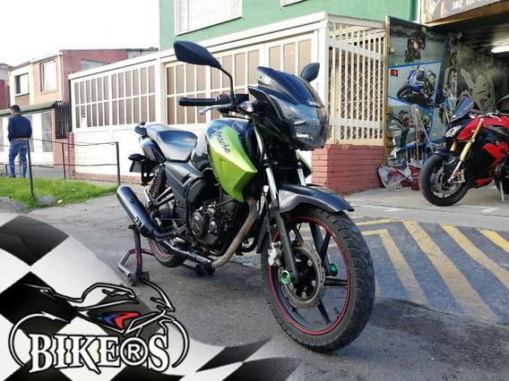 Tvs Apache Rtr 160 2016, Recibo Tu Moto, @bikers!!!