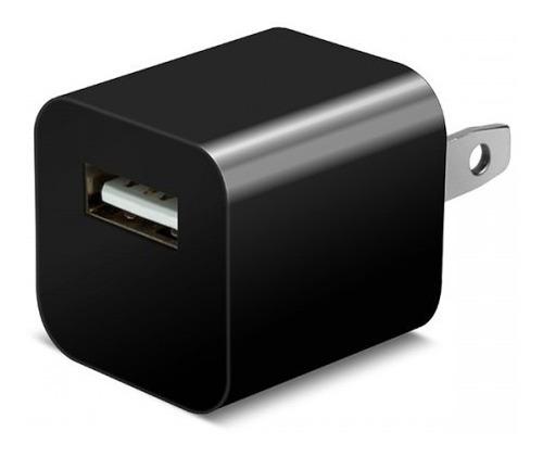 2 Cubo Taco Cargador De Pared Para Teléfonos 1a Usb Calidad