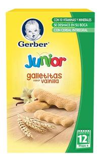 Galletas Gerber Junior Etapa 4 Sabor Vainilla 126g