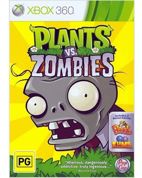 Plants Vs Zombies Para Xbox360 Destravado