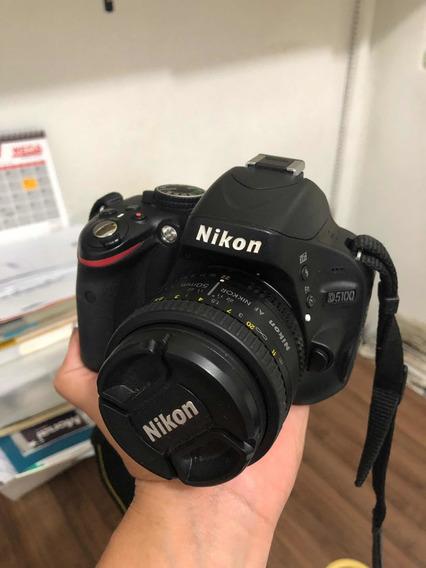 Nikon 5100 - Semi Nova
