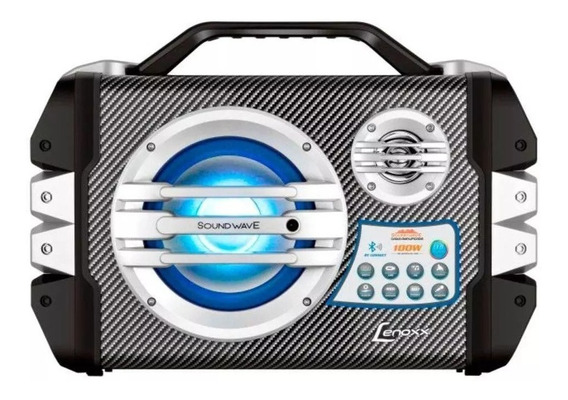 Caixa Amplificada Som Mp3 Radio Portatil Bluetooth Bateria