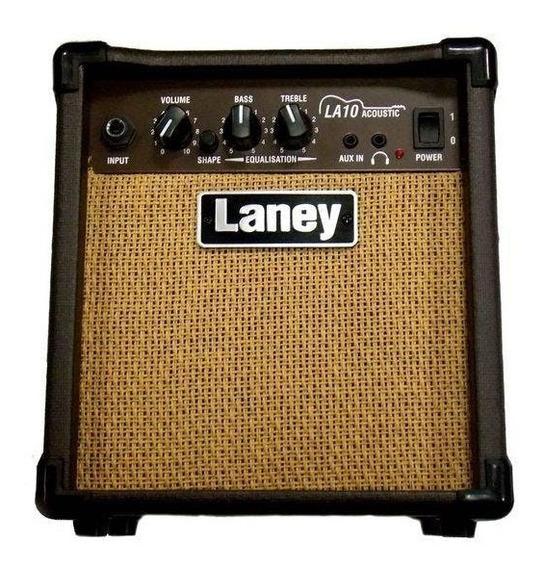 Amplificador Guitarra Acustica La10 Laney 10w Con Auxiliar