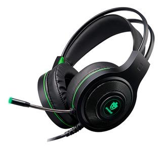 Fone De Ouvido Gamer Headset Têmis Eg301gr P2 3,5mm + Usb