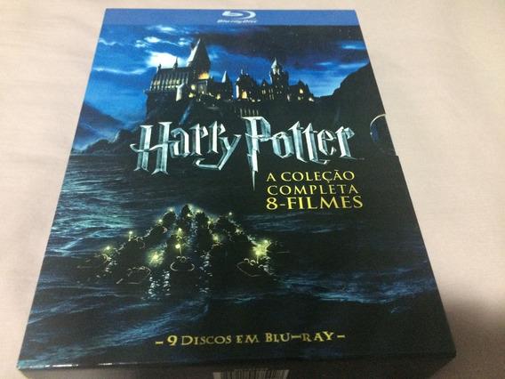 Harry Potter 08 Filmes Blu-ray Box 9 Discos