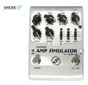 Pedal Nig Amp Simulator As1 - Guitarra - 2 Anos De Garantia