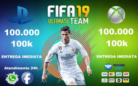 Coins Fifa 19 Ultimate Team 100.000 (100k) Ps4 E Xbox One
