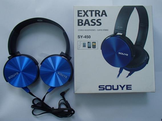 Fone De Ouvido Extra Bass Souye Sy - 450