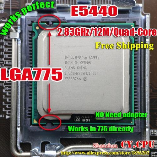 Processador Intel Xeon E5440 Mod Lga 775 Melhor Q X5450 ¨
