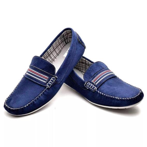 Sapato Mocasim Em Couro Camurssa N.40 E 43