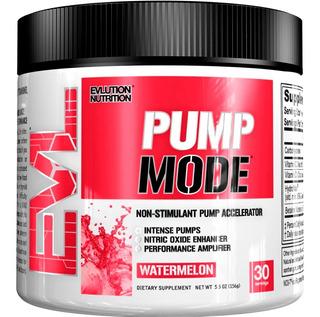 Pump Mode Evl Nutrition 30 Doses Vasodilatador Original Usa