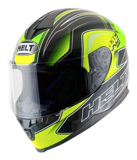 Capacete Full Face Helt New Race Dazzi