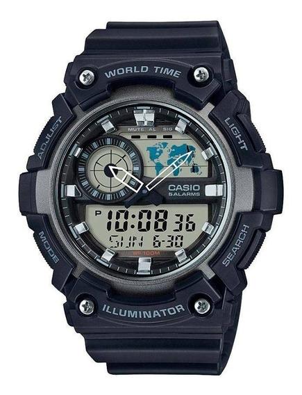 Relógio Original Casio Aeq-200w-1avdf