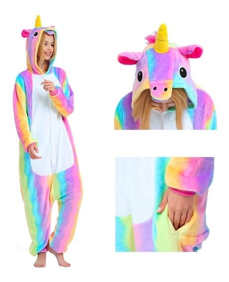 Kigurumi Rainbow Unicornio Super Cute Kawaii Envio Gratis!