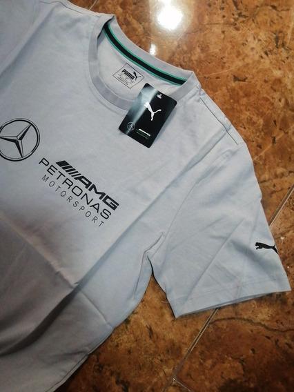 Playera Mercedes Benz Amg Petronas 100% Originales