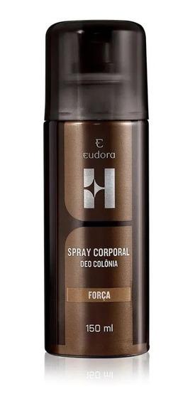 Deo Colônia Spray Corporal Força 150ml - Eudora