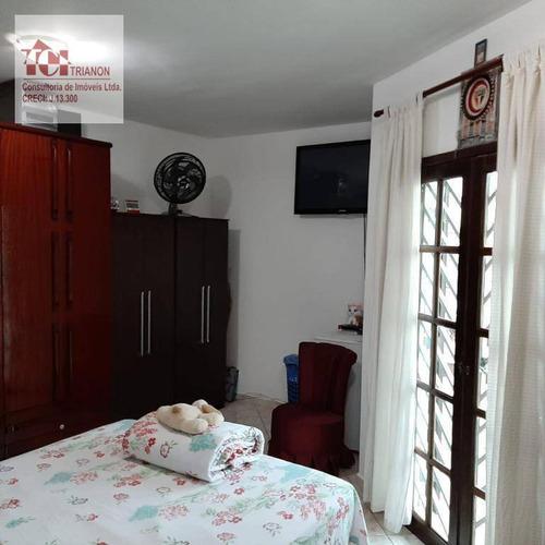 Imagem 1 de 19 de Sobrado Com 2 Dorms, 85 M² Por R$ 480.000 - Parque Novo Oratório - Santo André/sp - So0486