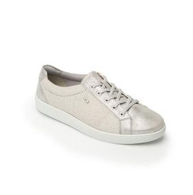 Sneaker Metalizado Silver Estilo 33505