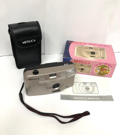 Máquina Fotográfica Mitsuca Pc-661 Original