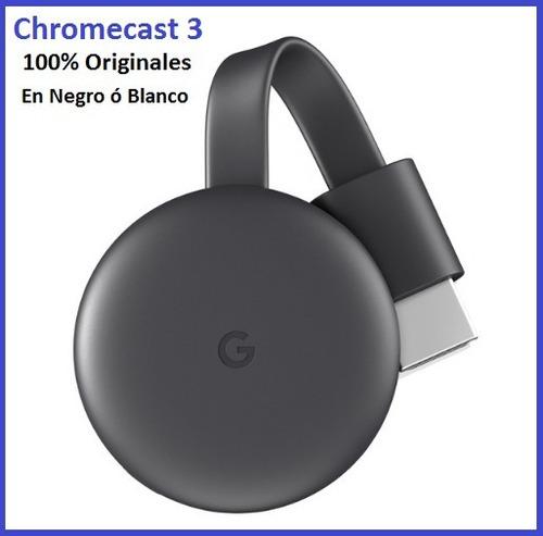 Google Chromecast Última Generación Originales Sellados