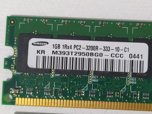 Imagem 1 de 4 de Memória Samsung 1gb Ddr2 400mhz 1rx4 P/ Servidor Ecc