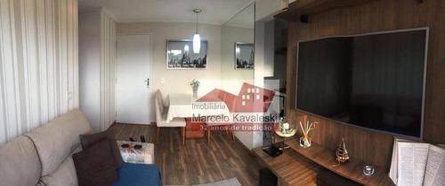 Imagem 1 de 28 de Apartamento Com 2 Dormitórios À Venda, 50 M² Por R$ 265.000,00 - Sacomã - São Paulo/sp - Ap8611