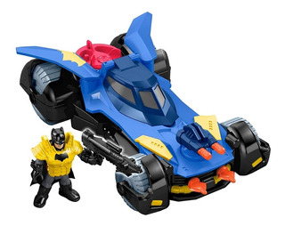 Auto Imaginext Batimovil Muñe Batman Fisher Price Original