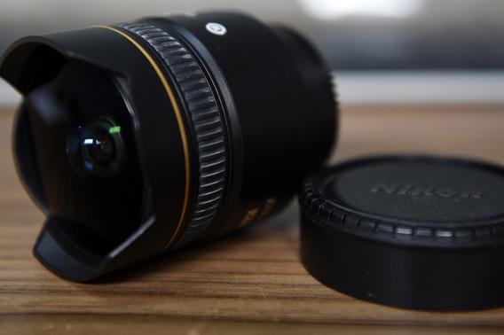 Lente Nikon 10.5 Nikkor Fisheye