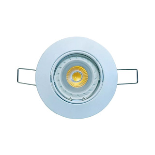Spot Embutir Dicroica Fundicion Aluminio Ronda Led 7w 18505b