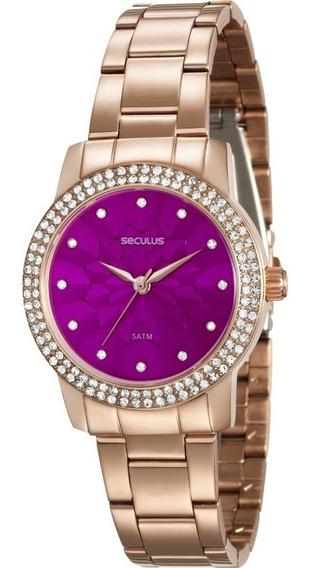 Relógio Seculus Feminino 20548lpsv/rs2