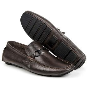 9b48806e6 Sapato Masculino Bigioni Mocassim Em Couro Casual Esportivo