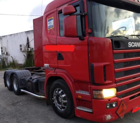 Scania R-380 6x2 Vermelha 2007 - Extra