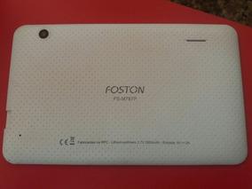 Tampa Traseira Tablet Foston Fs-m787p Branca Original