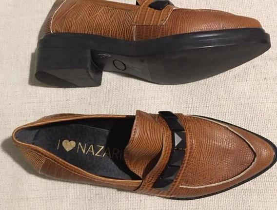 Zapato Mocasín Brown Nazaria Talle 36