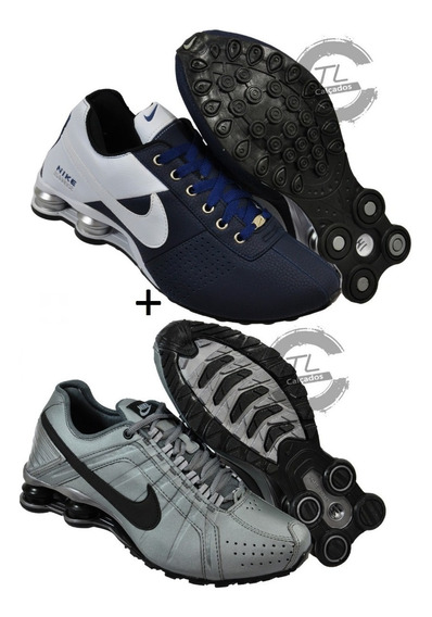 Tênis Nike Sxhox Nz Deliver Classic Junior 4 Molas Kit 2 Par