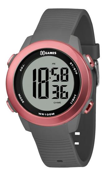 Relógio X Games Feminino Xfppd082 Bxgx Cinza - Refinado