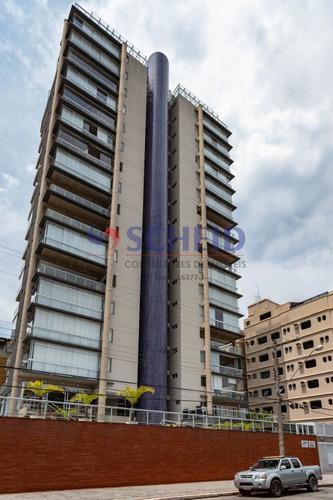 Apartamento Com 3 Suítes Com Ampla Varanda Gourmet, Vista Para O Mar! - Mr75031