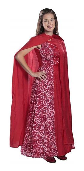 Disfraz Mujer Caperucita Roja Talla Medium Halloween Nuevo