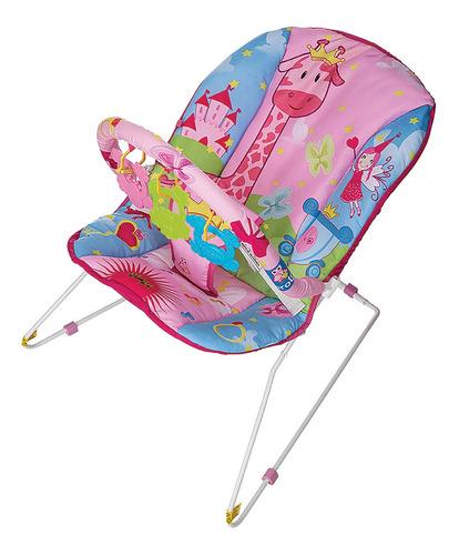 Cadeira De Descanso Bebê Musical Despertar Protek Rosa