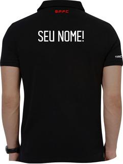 Camisa Polo São Paulo, Polo Torcedor São Paulo Com Nome