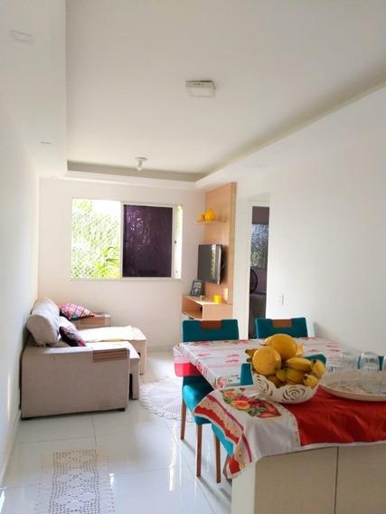 Rancho Novo/n. Iguaçu. Apartamento Reformado, 2 Quartos, Cozinha Planejada E Garagem. - Ap00300 - 34274801