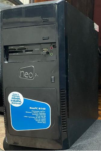 Imagem 1 de 9 de Computador Amd Fx-4100, 4 Gb, Hd 500 6b. Monitor 19,5''