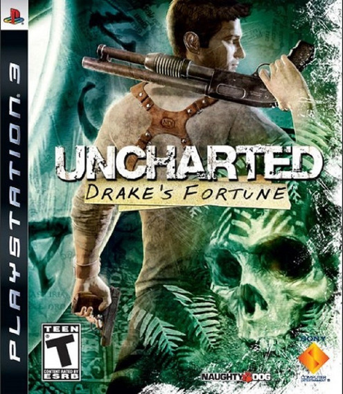 Uncharted 1 Ps3 Drakes Fortune Dublado Portugues Portugal