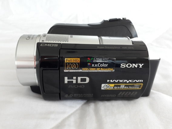 Filmadora Full Hd 1080p Sony Hdr Sr10 Com Hd 40gb