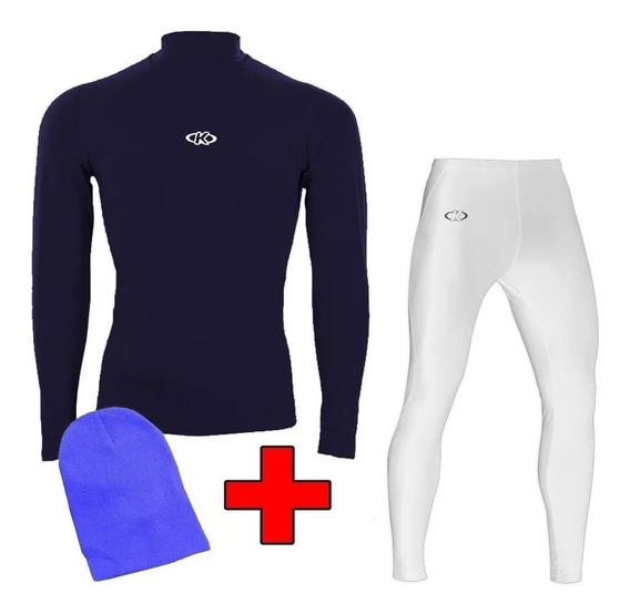Set Entrenamiento Calza Larga + Camiseta + Gorra Mvdsport