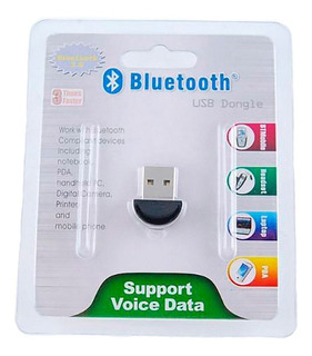 Mini Adaptador Bluetooth Usb 2.1 Receptor Pc Notebook +envio