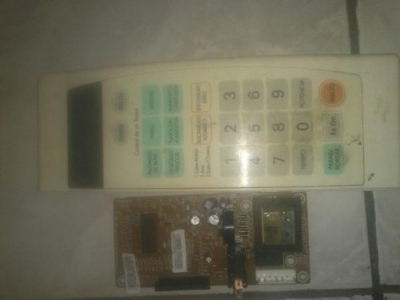 Placa Do Microondas Lg Ms0745v 127v