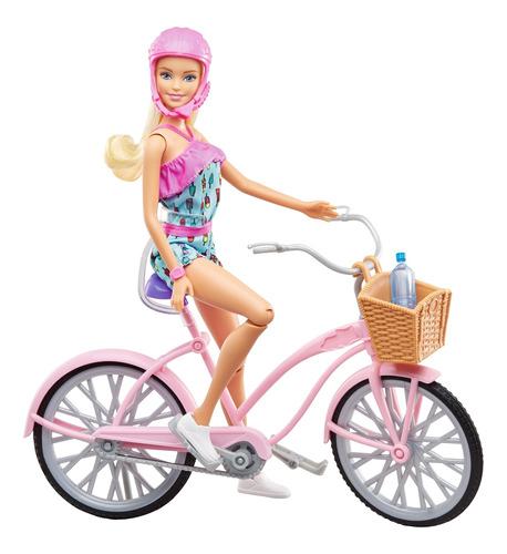 Barbie Estate Paseo En Bicicleta Muñeca Para Niñas