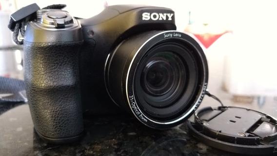Câmera Sony H100 21xzoon