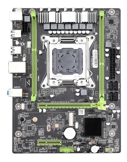 Kit Placa Mãe Kllisre X79 2011 + Xeon E5 2650v2+ 2*4gb Ddr3